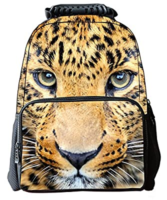 Canvas Boys Girls 3D Animals Print Daypack Backpack School Bag(305)