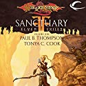 Sanctuary: Dragonlance: Elven Exiles, Book 1 (       UNABRIDGED) by Tonya C. Cook, Paul B. Thompson Narrated by Ax Norman