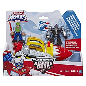 Transformers Playskool Heroes Rescue Bots Tunnel Drill Set