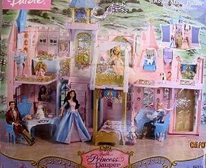 Barbie The Princess & The Pauper ROYAL MUSIC PALACE - MUSICAL CASTLE w SOUNDS Playset (2004)