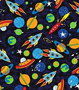 Amazon.com: SheetWorld Crib Sheet Set - Space - Made In USA: Baby