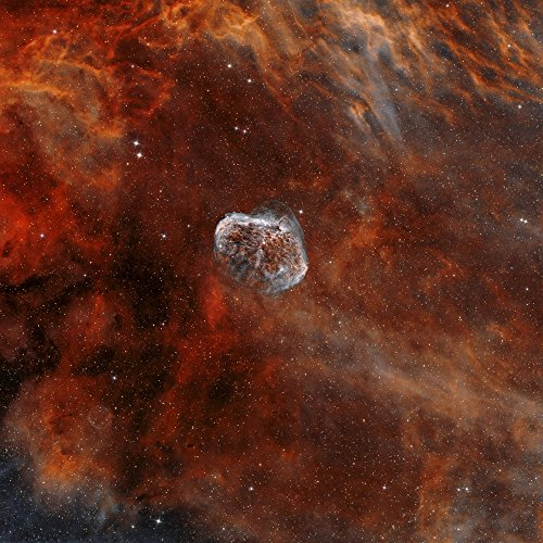 ngc-6888-the-crescent-nebula-with-soap-bubble-nebula-poster-print-28-x-28