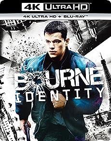 ボーン・アイデンティティー (4K ULTRA HD + Blu-rayセット)  [4K ULTRA HD + Blu-ray]