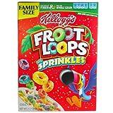 ケロッグ フルーツループ ホールグレイン・シリアル スプリンクル Kellogg's Froot Loops Cereal Sprinkles