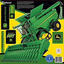 John Deere Combine Teammate Fathead Peel Stick Wall Decal
