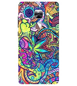 Chiraiyaa Designer Printed Premium Back Cover Case for Letv Le 2 (Colurful flower pattern) (Multicolor)
