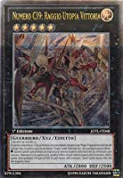 Yu-Gi-Oh! - JOTL-IT048 - Numero C39: Raggio Utopia Vittoria - Giudizio della Luce - 1st Edition - Super Rara