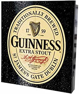 Guinness Extra Stout Irish Beer Dart Board Game Cabinet