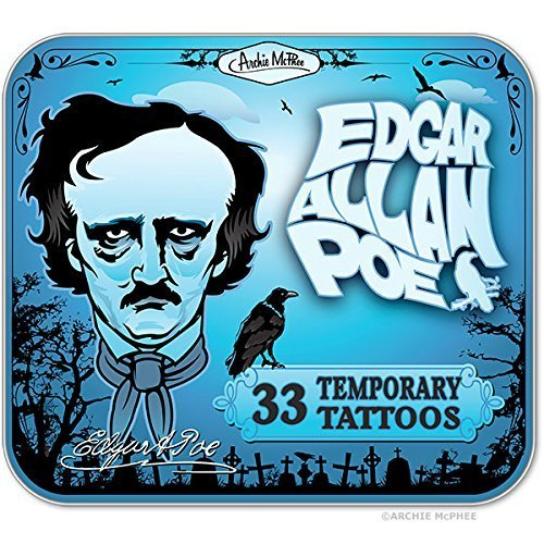edgar-allen-poe-temporary-tattoos-by-archie-mcphee