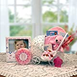 """Bundle of Joy"" Baby Carriage Gift Basket -Pink"