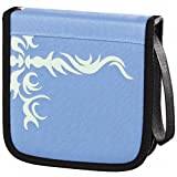 Hama CD/DVD Nylon Wallet Tribal 32, light-blue