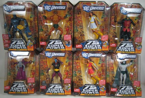 Buy Low Price Mattel DC Universe Classics Wave 12 Darkseid Build A Figure Set of 8 with White Mary Batson Variant (B00519P3SY)