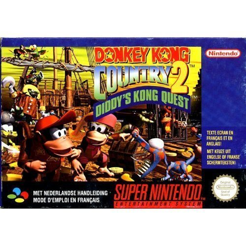Donkey Kong Country 2: Diddy'S Kong Quest front-176343