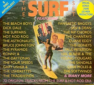 The Surf Set - 72 Original Tracks from the Surf and Hot Rod Era [3 CD BOX SET]