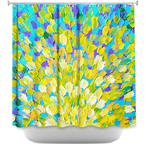 DiaNoche Designs Shower Curtains by Julia DiSano Unique, Cool, Fun, Funky, Stylish, Decorative Home Decor and Bathroom Ideas - Splash II