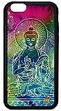 wildflower ( ワイルドフラワー ) ロサンゼルス の 存在感 アメリカン ブッダ iphone6ケース Buddha iPhone 6 Case ファブリック 布 大仏 アイフォン ケース 仏様 モバイル カバー apple6 海外 ブランド