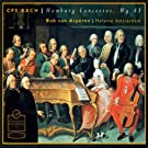 Carl Philipp Emanuel Bach: Hamburg Concertos
