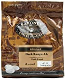 Baronet Coffee Dark Kenya AA Dark Roast (140 g), 18-Count Coffee Pods