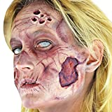 Woochie Deluxe FX Makeup Kits - Zombie (Female) (Color: Neutral, Tamaño: One Size)