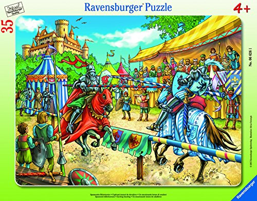 Ravensburger Exciting Jousting Frame Tray Jigsaw Puzzle (35 Piece)