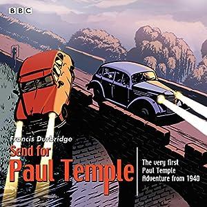 Send for Paul Temple Radio/TV Program