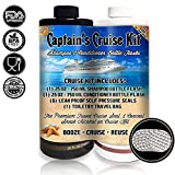 Captain's Cruise Kit With Shampoo & Conditioner Bottle Flasks - Premium Sneak Alcohol On Cruise Set - Rum Runner Take Liquor Booze Anywhere Containers
