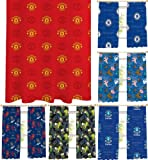 Kids Football FC & TV Film Characters Ready Made Pencil Pleat Curtains! Choice Of Designs & Sizes! Manchester United 66