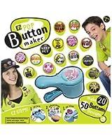 EZ Pop EZ POP BUTTON MAKER. Accessory, Brooch, Pins, Badges, Collection, Art, Toy, Craft bébé, nourrisson, enfant, jouet