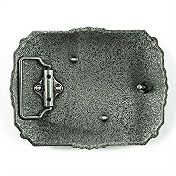 Senmi Vintage Cowboy Prayer Belt Buckles- with Senmi Box Gift Wrapped