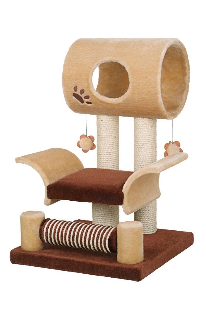 Nobby Kratzbaum für Katzen Limbo, braun/beige