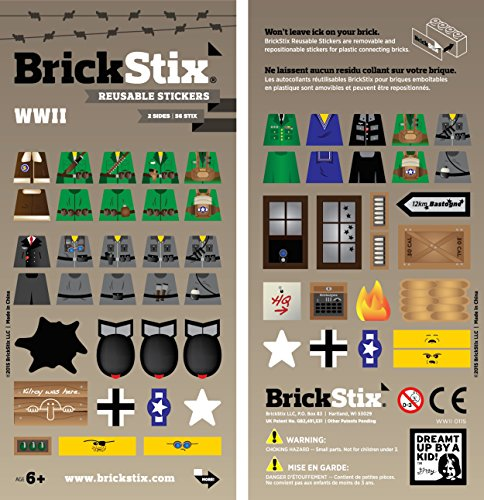 WWII MOD STIX - Reusable Stickers for your Bricks