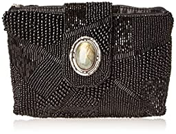 Mary Frances Ebony Mini Clutch, Multi, One Size