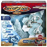 Heroscape Game System Expansion Set: Thaelenk Tundra Glacier Mountains, Ice and Snow Pack with Snow Hunters