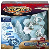 Heroscape Game System Expansion Set: Thaelenk Tundra Glacier Mountains, Ice and Snow Pack with Snow Hunters ~ Hasbro