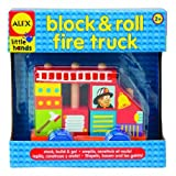 ALEX® Toys - Block And Roll - Fire Truck 1473T