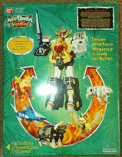 Deluxe Wild Force Megazord Power Rangers Sabans