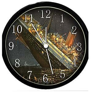 glow in the dark wall clock the titanic