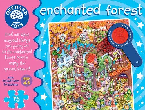 Imagen principal de Orchard Toys Enchanted Forest - Puzle (75 piezas), diseño de bosque encantado