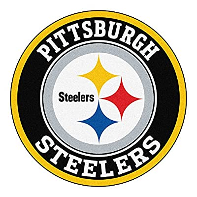 FANMATS 17972 NFL Pittsburgh Steelers Roundel Mat