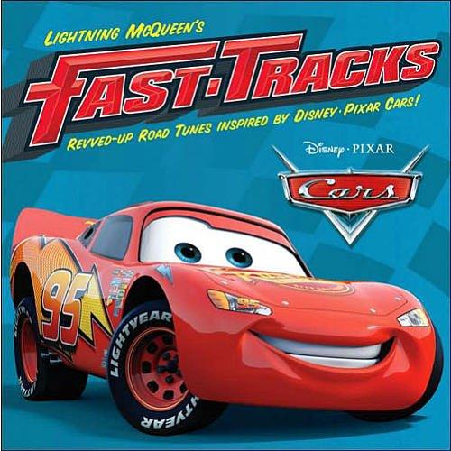 Disney Pixar's Cars The Movie: Lightning McQueen's Fast Tracks CD Soundtrack