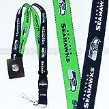 NFL SEATTLE SEAHAWKS LANYARD (2-TONE)