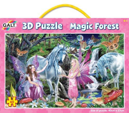 Galt Toys Inc Magic Forest 3D Changing Puzzle