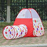 AGPtek® Dot Design Kid Play Pop Up Tent House for Children
