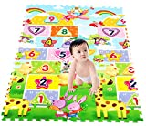 Baby Cartoon Numeral Giraffe Foam Crawling Mats Each Tile 60CMx60CMx2CM