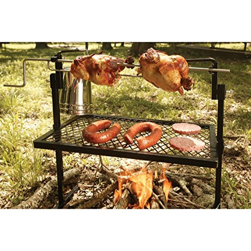 Texsport Rotisserie & Spit Grill Cooking Campfire Slow Roast Outdoor Camp ;P#H54E154 2345TSW258984