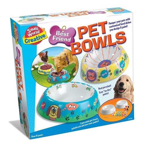Small World Toys Creative - Best Friend Porcelain Pet Bowls front-890306