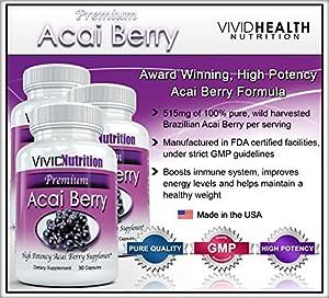 PREMIUM ACAI  - High Potency, Pure Acai Berry