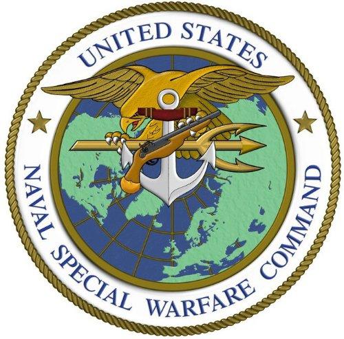 NAVY SEALS ネイビーシールズ 特殊部隊 部隊章 パッチ ワッペン ベルクロ付き 面ファスナー付き OD オリーブドラブ