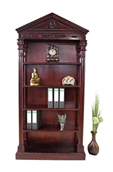 Libros en forma de Empire Stil caoba madera estantería BC-1 - caoba