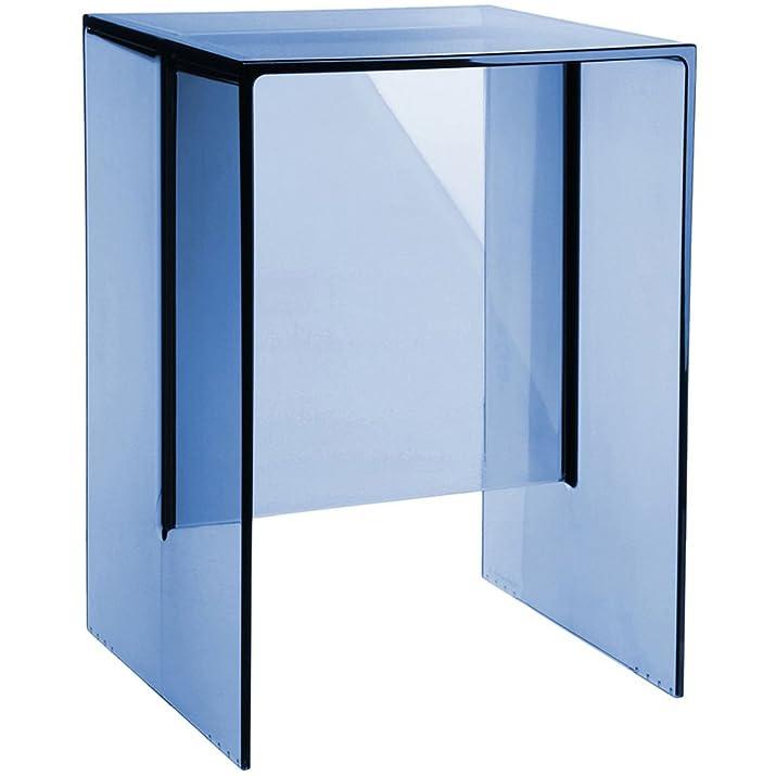 Kartell, Tavolino in polimetilmetacrilato, 33 x 47 x 27 cm, Blu (Blau)